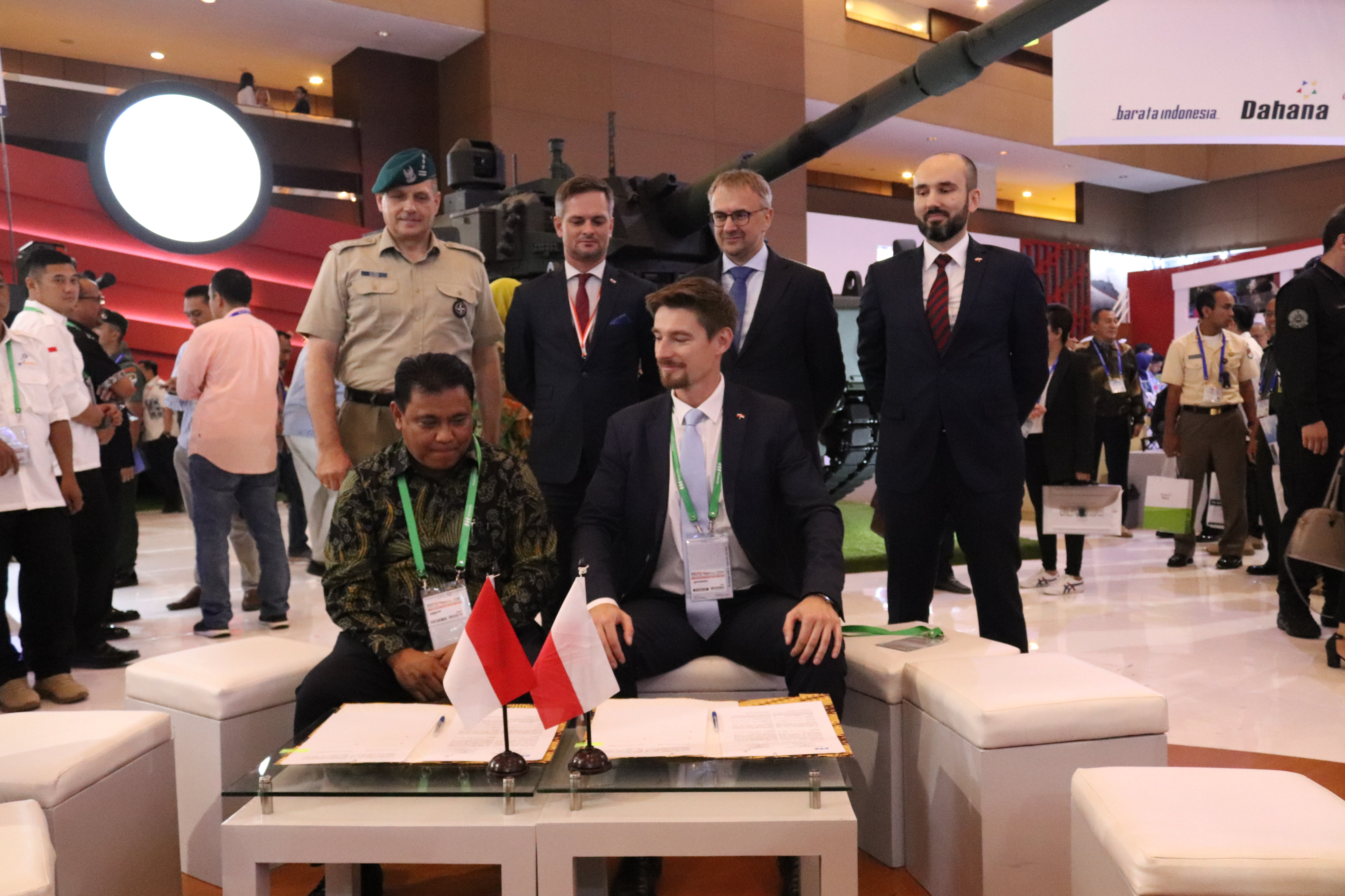 PCO S.A. signed a memorandum of understanding with Pindad (Persero) company