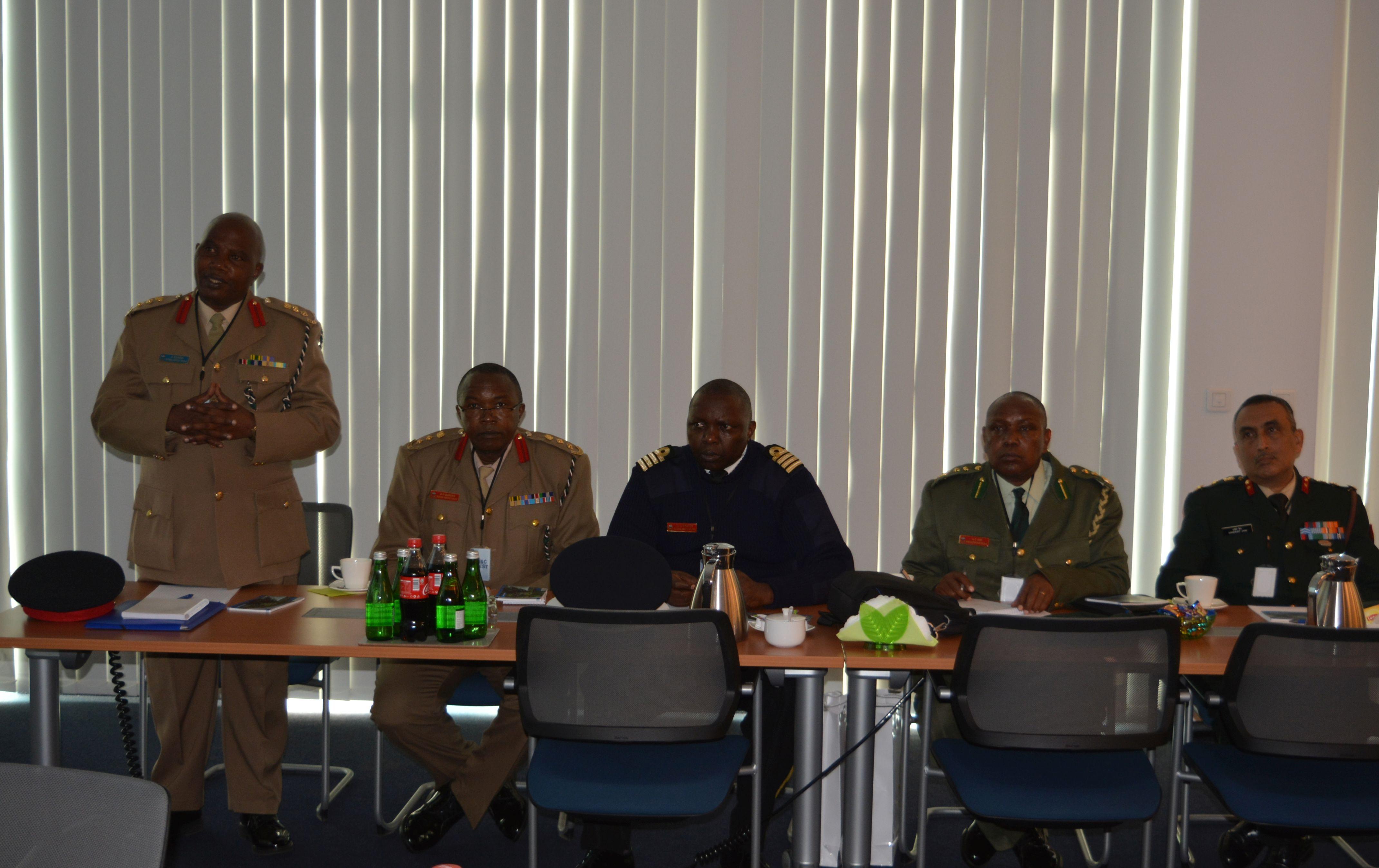 Wizyta delegacji z Kenii