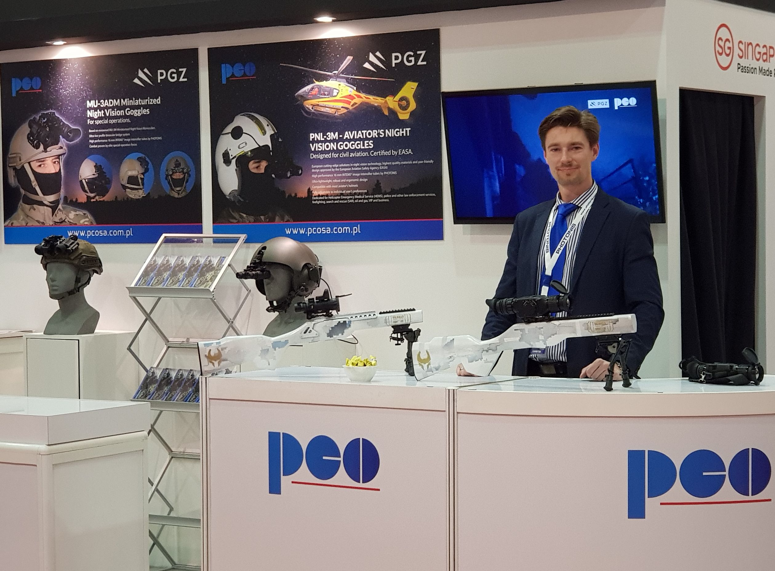 PCO at Milipol Asia-Pacific