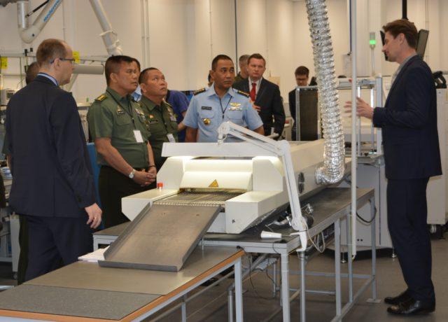 Visit of the Indonesian delegation