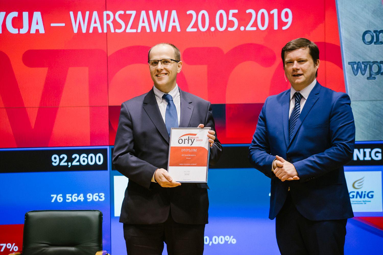 """PCO ztytułem Orła tygodnika """"Wprost"""""""