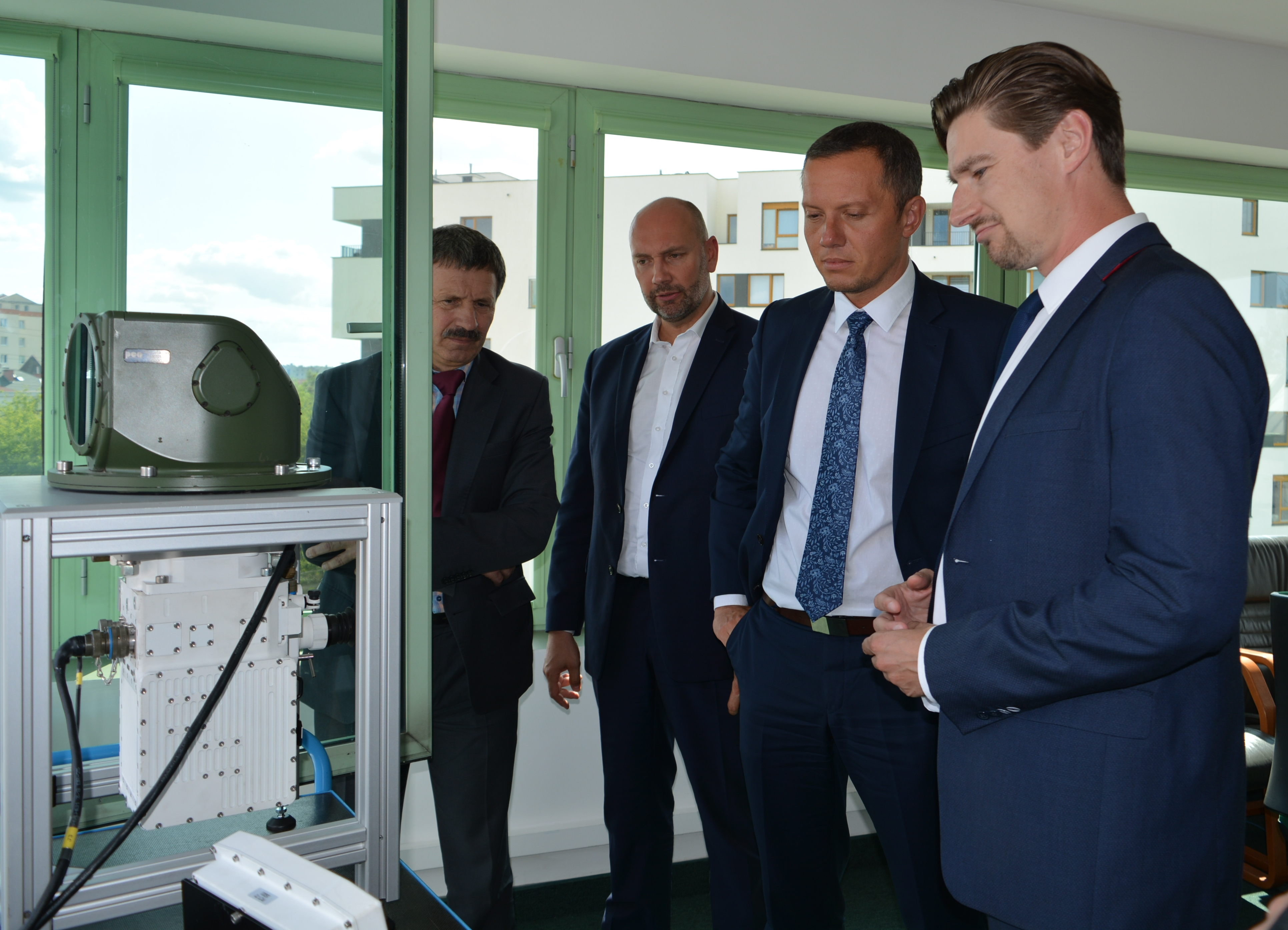 Wizyta Ministra Tomasza Zdzikota w PCO S.A.
