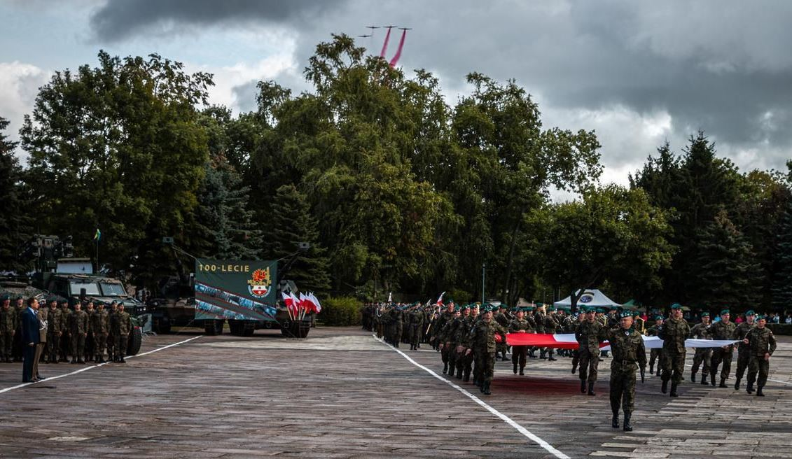 PCO S.A. took part in the celebrations on the 100th anniversary of the creation of the 16th Pomeranian Mechanized Division