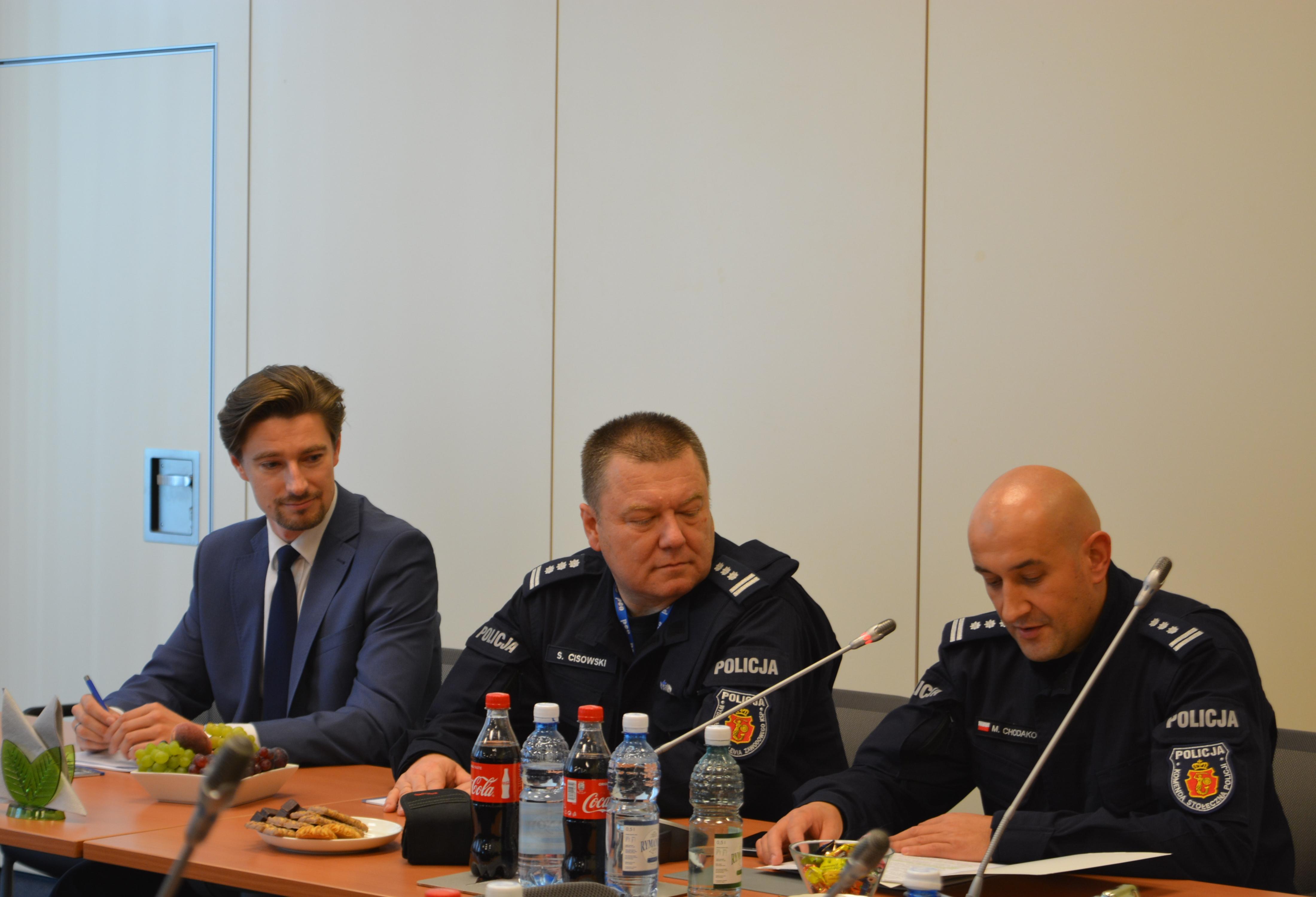 Wizyta przedstawicieli Policji