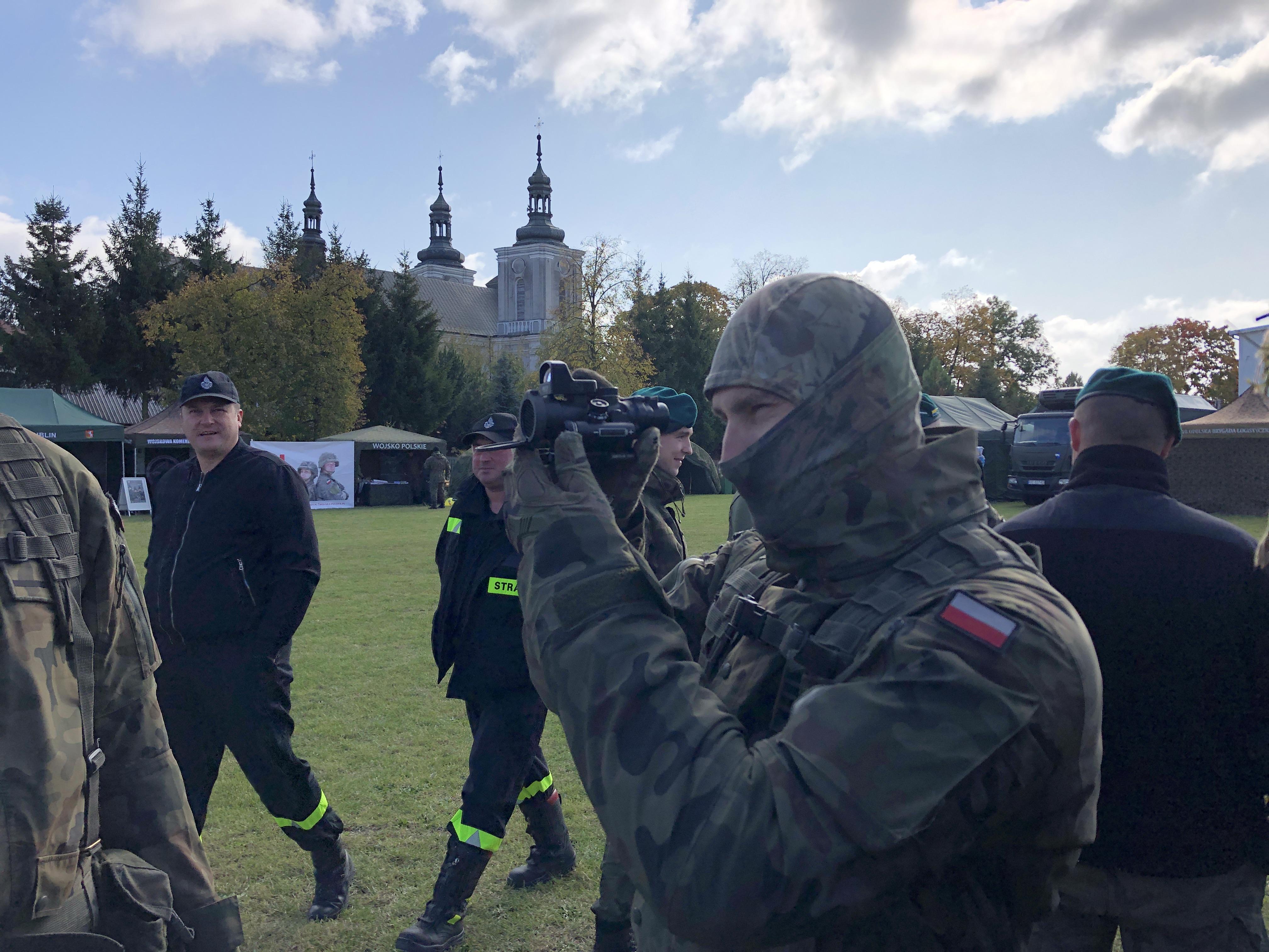 PCO napokazach wWoli Gułowskiej