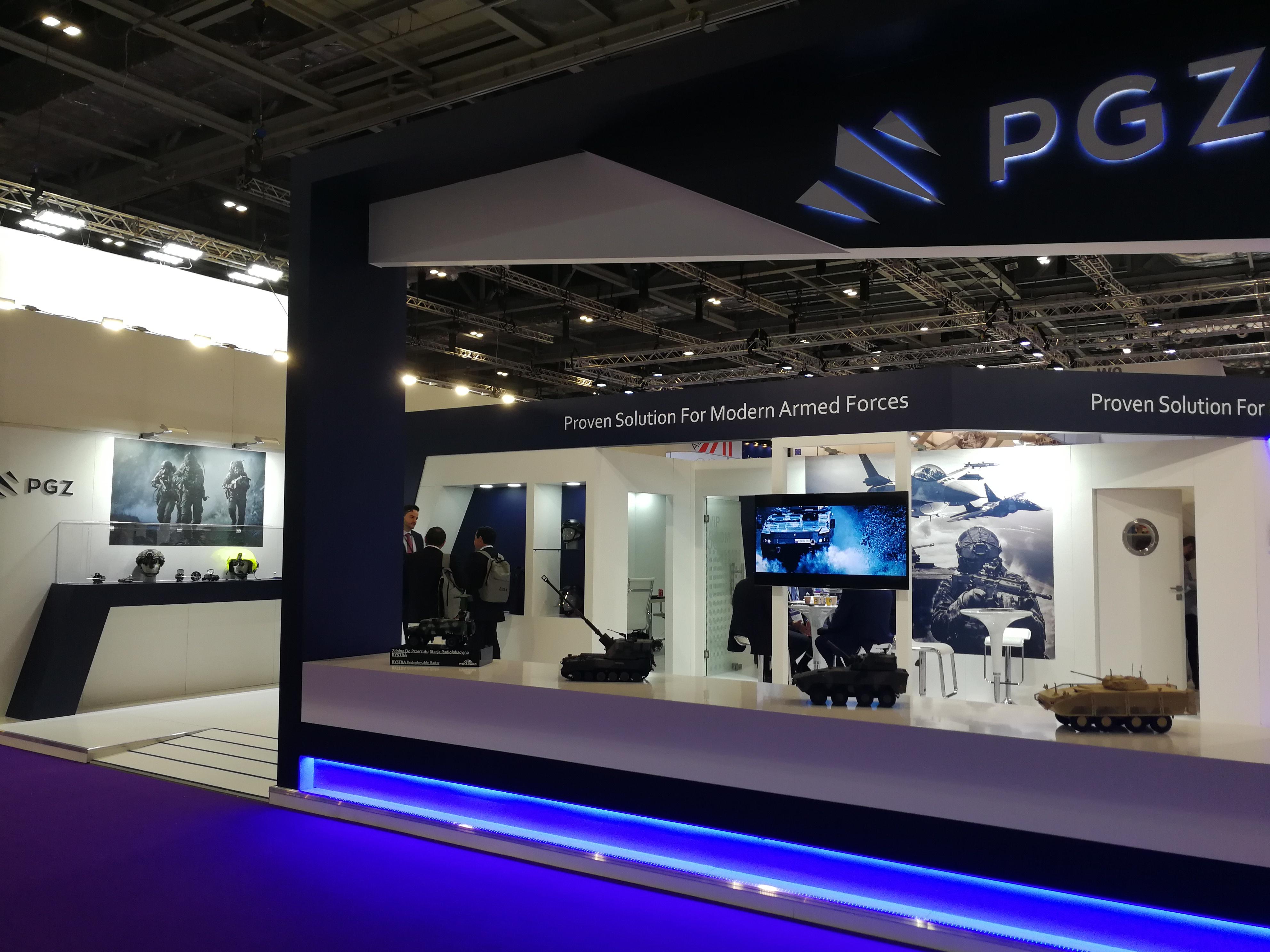 PCO S.A. during DSEI trade fair