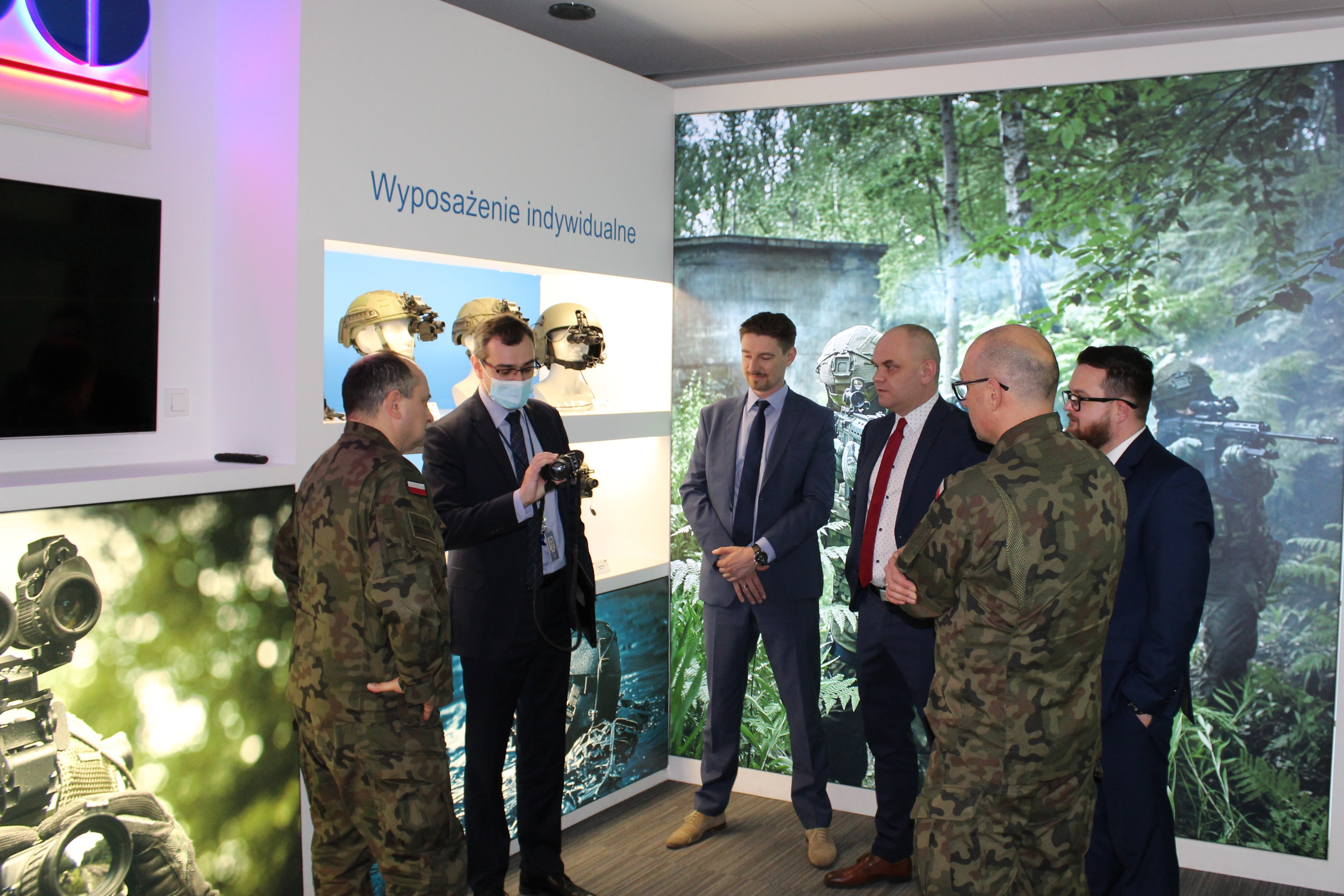 Visit of the Chief of the Armed Forces Support  Inspectorate